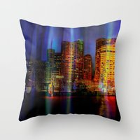 Behind The Curtain 3 (Sy… Throw Pillow