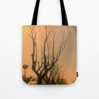 Spiritual trees Tote Bag
