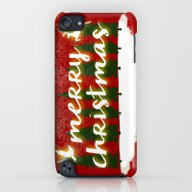 Merry Christmas iPod touch Slim Case