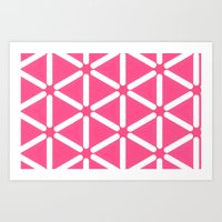 Wildeman Pink Art Print