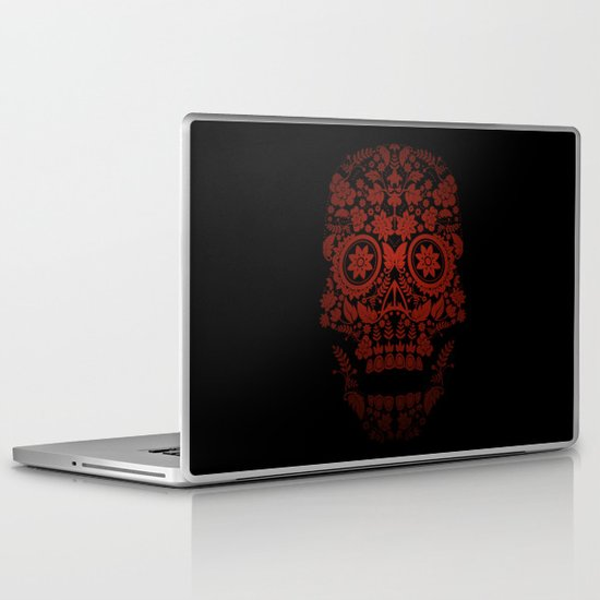 Day of the Dead Skull No.21 Laptop & iPad Skin