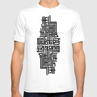 Hell Yeah! Mens Fitted Tee White SMALL