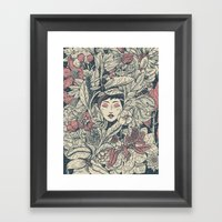 Ecstasy & Decay Framed Art Print