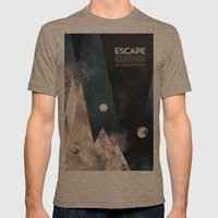 Escape, From Planet Eart… Mens Fitted Tee Tri-Coffee SMALL