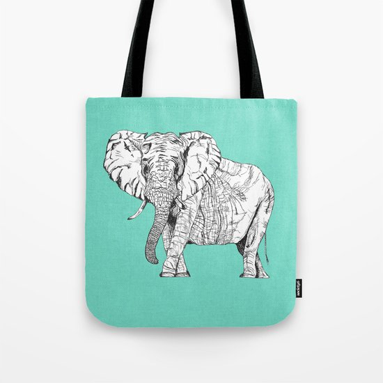 two ways to see one elephant Tote Bag