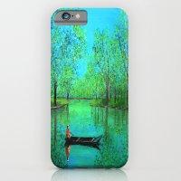Lake reflection iPhone 6 Slim Case