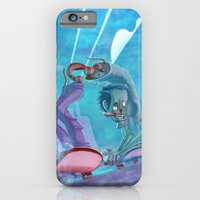 iPhone & iPod Case featuring Zombies and Skateboards by animatorlu