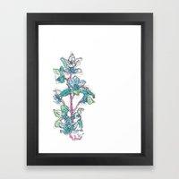 Calahan's Orchids Framed Art Print