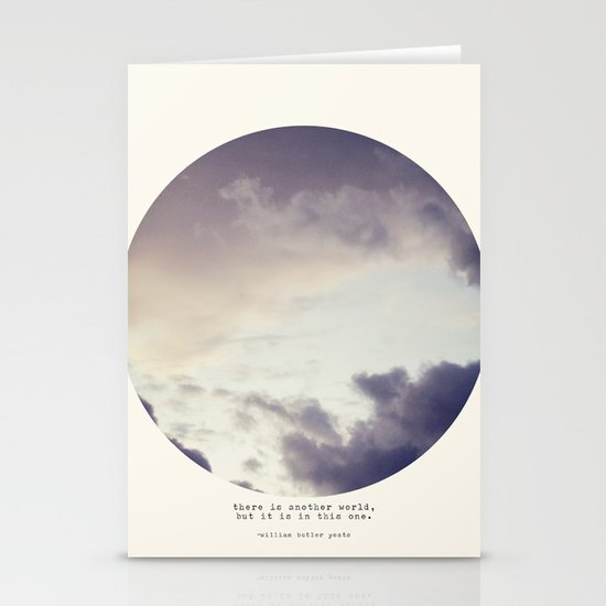 There Is Another World Stationery Card
