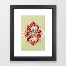 abstrkt placement Framed Art Print