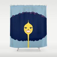 Good Hair Days: Big Shower Curtain