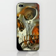 iPhone & iPod Skin featuring Skull by SethBlood