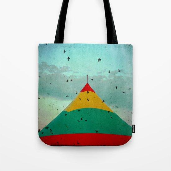 Circus Birds Tote Bag