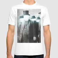 Business As Usual  Mens Fitted Tee White SMALL