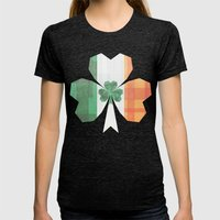 Ireland Womens Fitted Tee Tri-Black SMALL
