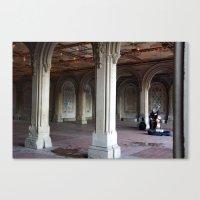 Central Park Soloist  Canvas Print