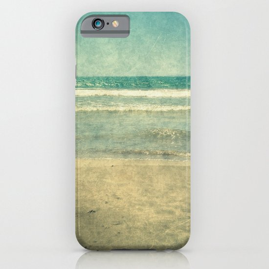 Seascape Vertical Abstract iPhone & iPod Case