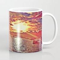 Sunset Over London Mug