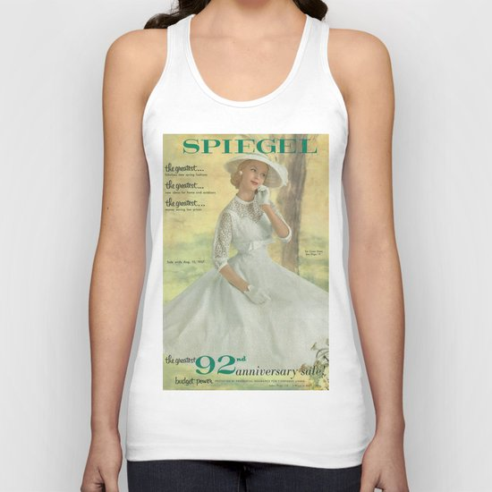 1957 Spring/Summer Catalog Cover Unisex Tank Top