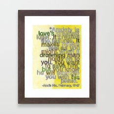 Anaïs Nin on Love, I Framed Art Print
