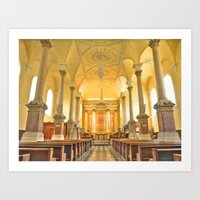 Christchurch Cathedral I… Art Print