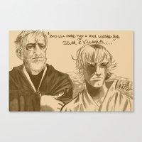 Mos Eisley Overlook Canvas Print