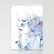 Waves - To And Fro Stationery Cards