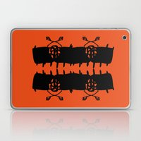 Orange AbstractArtwork Laptop & iPad Skin