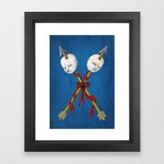 Las Jaras Framed Art Print
