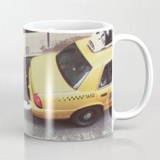 one way taxi:: nyc Mug