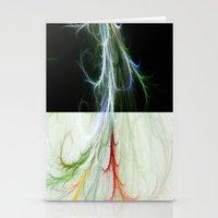 Lightning Dance Stationery Cards