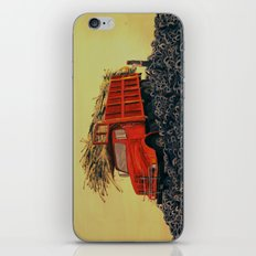 sugar cane and truck on fire iPhone & iPod Skin