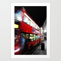 double decker Art Print