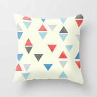 Triangle : Pattern Throw Pillow