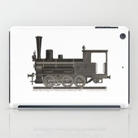 Locomotive Black Max iPad Case