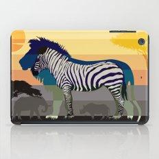 Sunset in Savanna iPad Case