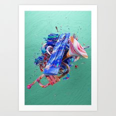Colour Form & Expression #2 Art Print