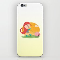 Lilly and Piggy iPhone & iPod Skin