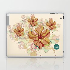 out flowers Laptop & iPad Skin