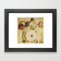 Grammovaglia Framed Art Print