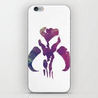 Star Wars Mandalorian Colors iPhone & iPod Skin