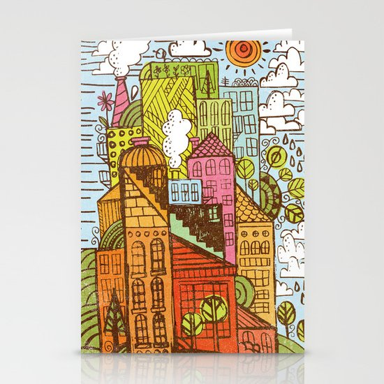 BUILD UP  Stationery Card