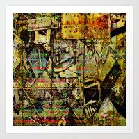 PIECESDETACHEES Art Print