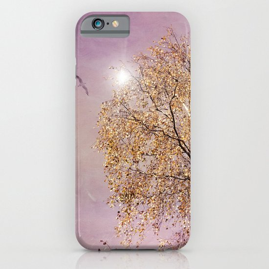 AUTUMN BIRCH iPhone & iPod Case