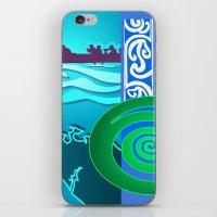 War Canoe- The Waka iPhone & iPod Skin