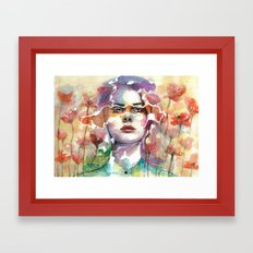 Summer's Yearnings Framed Art Print
