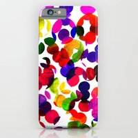 iPhone & iPod Case featuring Sunshine Spot Red by Amy Sia