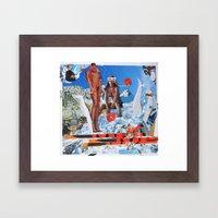 Essence Of Life · Zwischenwelten · Honey Power Framed Art Print
