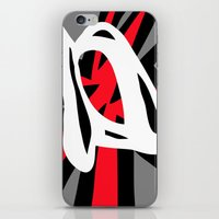 Glass Slipper Shatters T… iPhone & iPod Skin