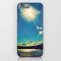 iPhone & iPod Case featuring Sunshine at the Black Sea by Amdis Rain